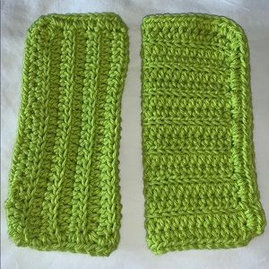 2 Pretty All Purpose 100% Cotton Crocheted Cloths